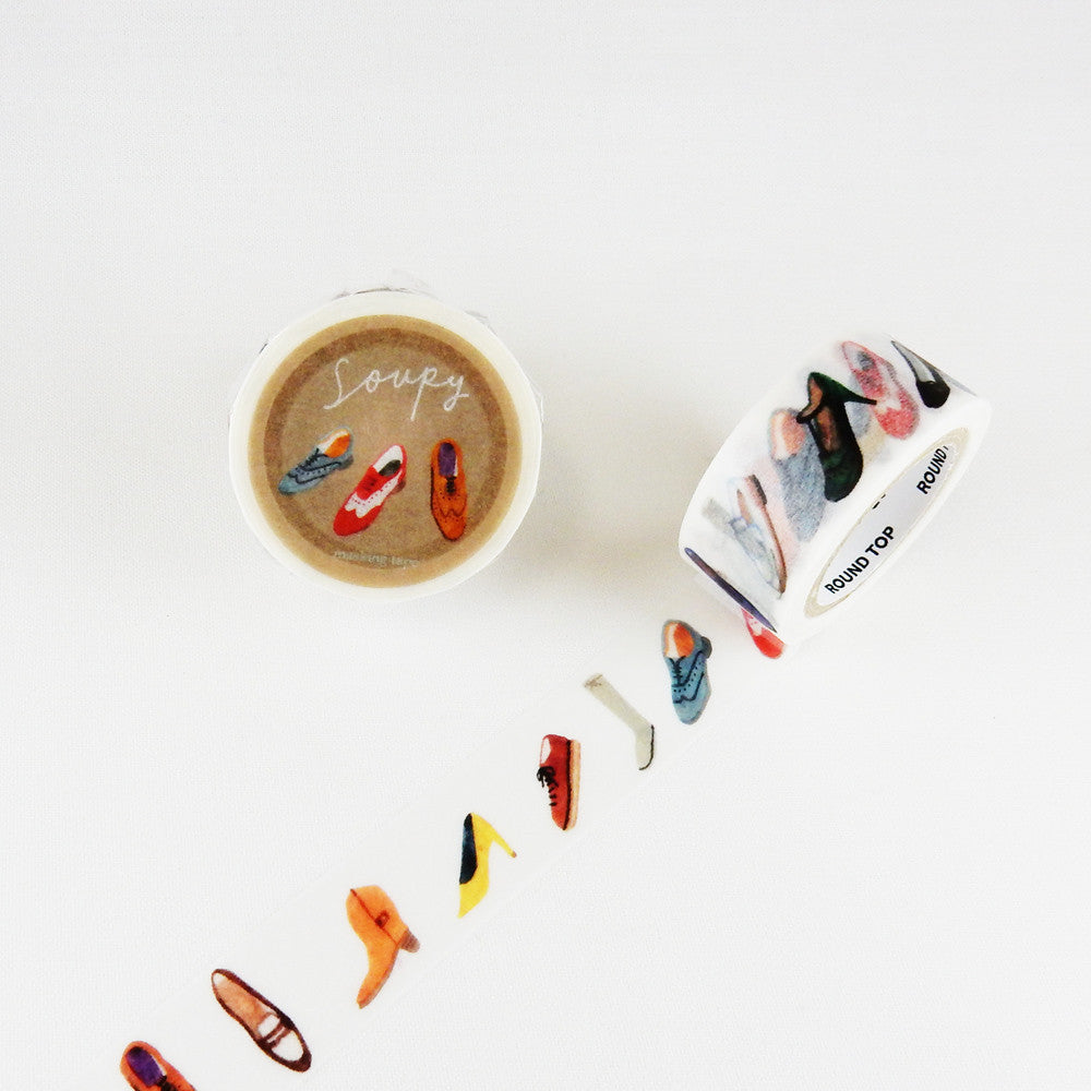 Soupy Washi Tape - Shoes