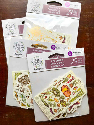 Spring Farmhouse Ephemera Die-Cuts II (29 Pk) - Prima Marketing from micmoc.com