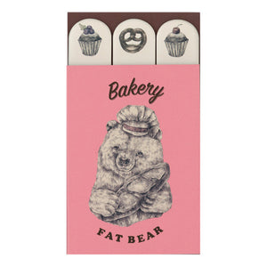 Mini Sticky Note Set - Bakery Bear from micmoc.com at Mic Moc Curated Emporium