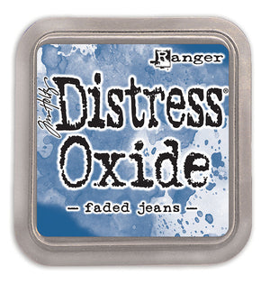 Ranger Ink Tim Holtz Distress OXIDE Ink Pad (Faded Jeans) from Mic Moc at micmoc.com