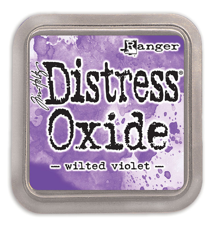 Ranger Ink Tim Holtz Distress OXIDE Ink Pad (Wilted Violet) from Mic Moc at micmoc.com