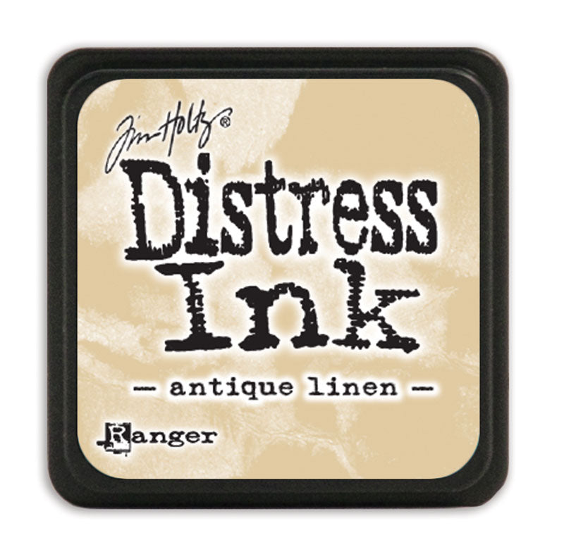 MINI Distress Ink Pad - Antique Linen