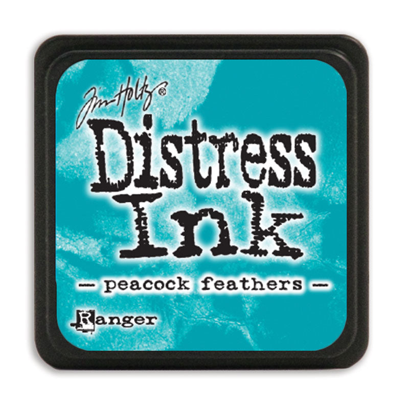 MINI Distress Ink Pad -  Peacock Feathers