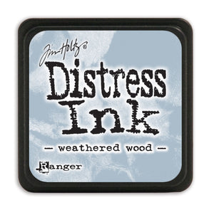 MINI Distress Ink Pad - Weathered Wood