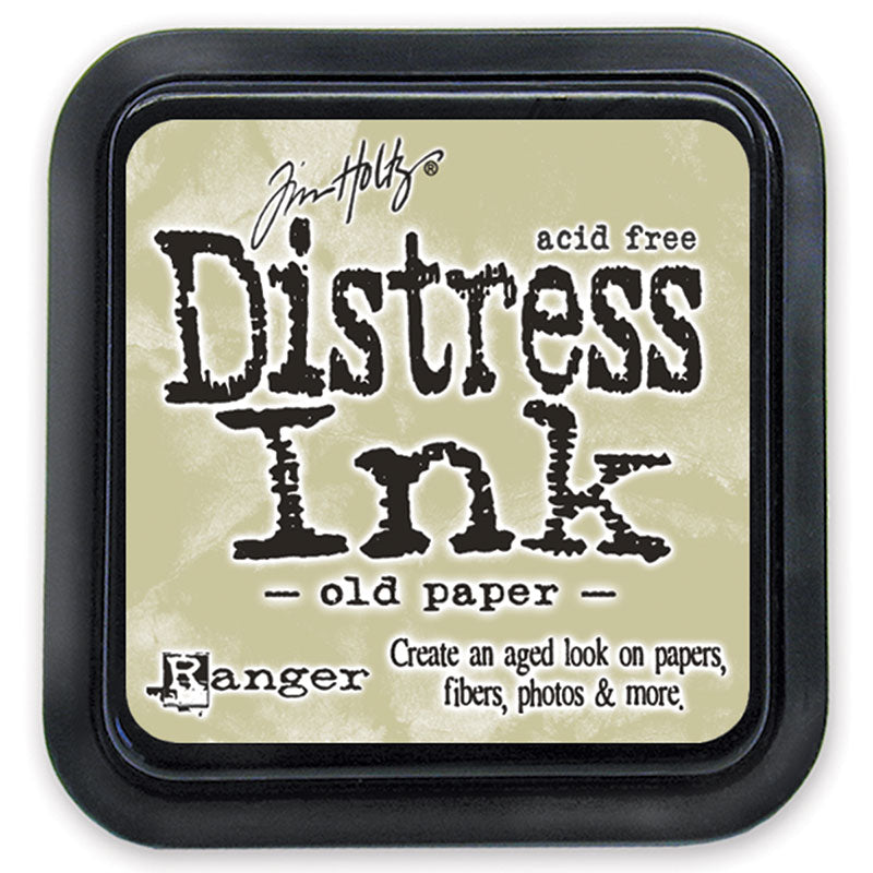 Distress Ink Pad - Old Paper (Regular Size)