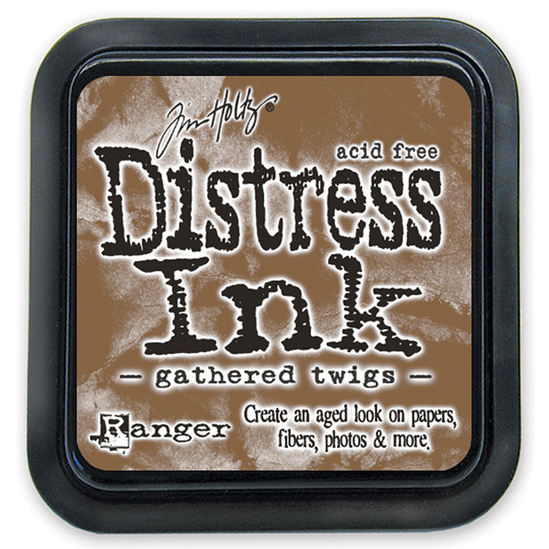 Distress Ink Pad - Gathered Twig (Regular Size)