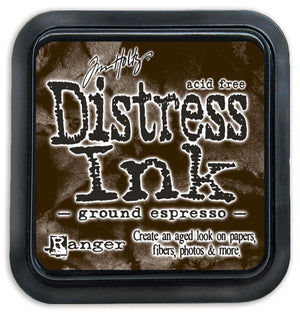 Ranger Ink Tim Holtz Distress Ink Pad - Ground Espresso (Regular Size) from Mic Moc at micmoc.com