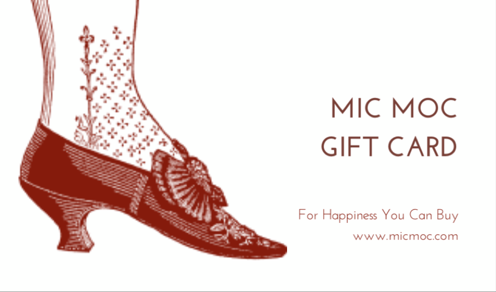 Mic Moc Gift Card for stationery gifts online from micmoc.com at Mic Moc