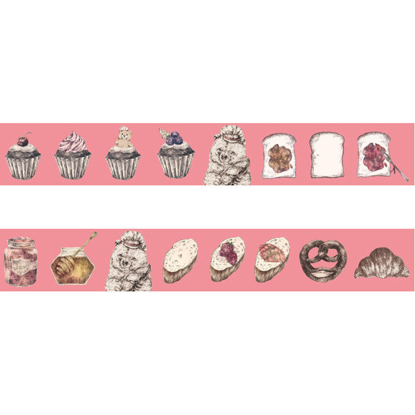 Washi Tape - Bakery Bear from micmoc.com at Mic Moc Curated Emporium