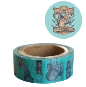 Washi Tape - Library Squirrel from micmoc.com at Mic Moc Curated Emporium