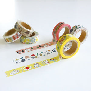 Chobit Wit Washi Tape - (Izakaya) Japanese Bistro from micmoc.com at Mic Moc Curated Emporium