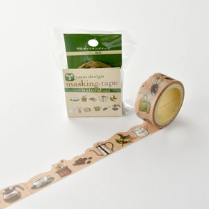 Yano Design Washi Tape - Coffee