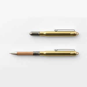 Traveler's Company TRC Brass Ballpoint Pen from micmoc.com at Mic Moc Curated Emporium