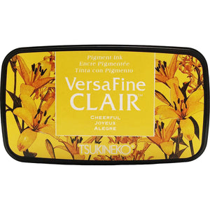 VersaFine Clair 'Dark' Pigment Ink Pad - Cheerful from micmoc.com at Mic Moc Curated Emporium