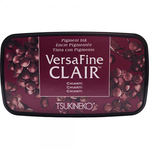 VersaFine Clair 'Dark' Pigment Ink Pad - Chianti from micmoc.com at Mic Moc Curated Emporium