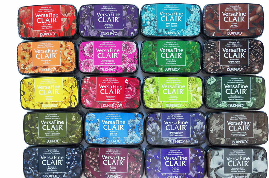 VersaFine Clair 'Dark' Pigment Ink Pad - Summertime from micmoc.com at Mic Moc Curated Emporium