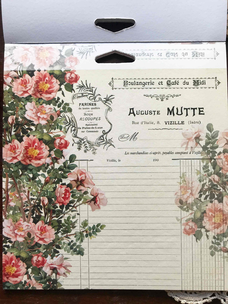 "'Vintage Saga' 2-sided 6"" x 6"" Paper Pad by Dress My Craft from micmoc.com"