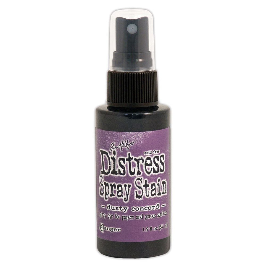 Distress Spray Stain - Dusty Concord from micmoc.com at Mic Moc