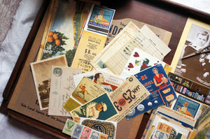 Vintage Ephemera - 'Salvage Art' Drawer (7 Gypsies) - Pack of 15 by micmoc.com at Mic Moc