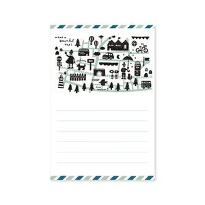 Letter Writing Pad - Eric 'Town' from micmoc.com at Mic Moc