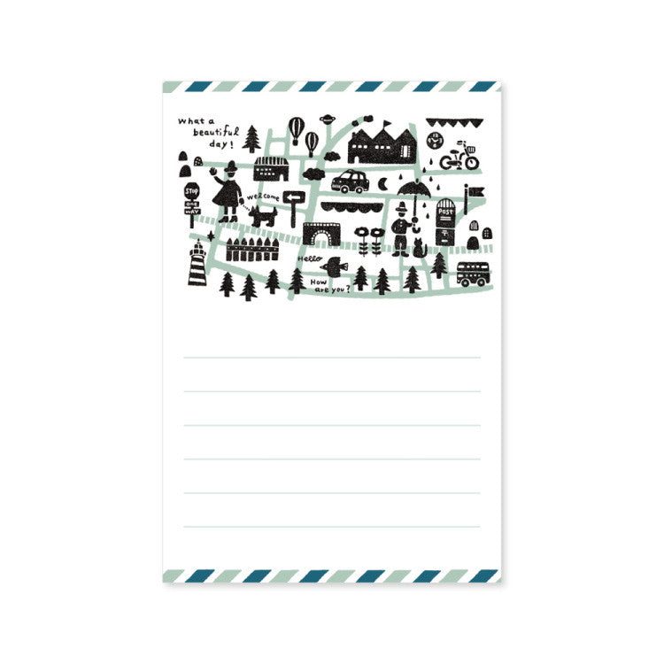 Letter Writing Pad - Eric 'Town'