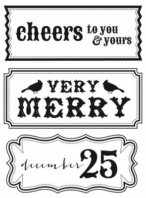 Kaisercraft Clear Stamps - Holly Bright CS109 from micmoc.com at Mic Moc