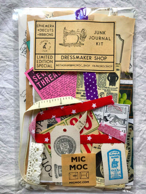 Junk Journal Kit - Dressmaker Shop from micmoc.com at Mic Moc