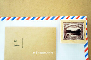 Kodomo No Kao - Vintage Postage Stamp for Mail Art
