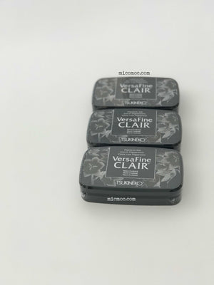 VersaFine Clair 'Dark' Pigment Ink Pad - Nocturne(Black) from micmoc.com at Mic Moc Curated Emporium