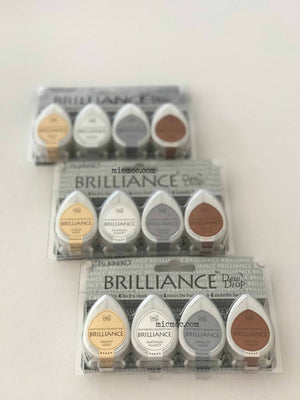 Tsukineko Brilliance Dew Drop Pigment Inks - Planetarium