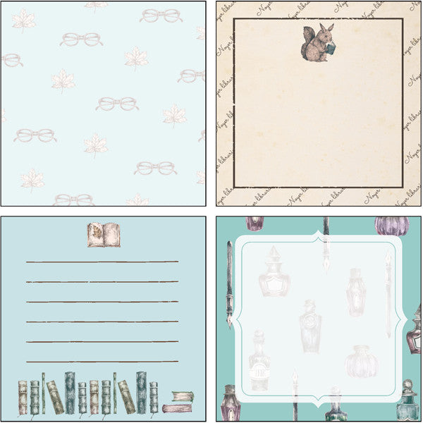 Memo Pad - Library Squirrel