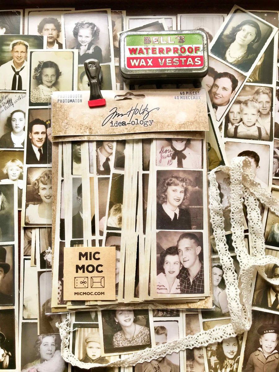 Tim Holtz® Idea-ology Photo Booth Strips TH93799 from micmoc.com