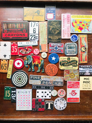 Tim Holtz® Idea-ology Junk Drawer Chipboard Baseboard Die-cuts 620177 from micmoc.com