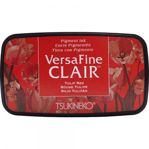 VersaFine Clair 'Dark' Pigment Ink Pad - Tulip Red from micmoc.com at Mic Moc Curated Emporium