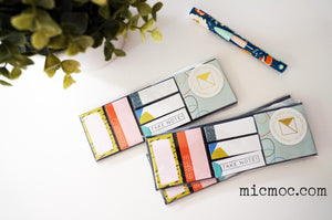 Kaiser Style Adhesive Notes - Wild from micmoc.com at Mic Moc