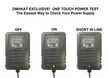 OhmKat Professional Grade Short Protected 24 Volt Power Supply