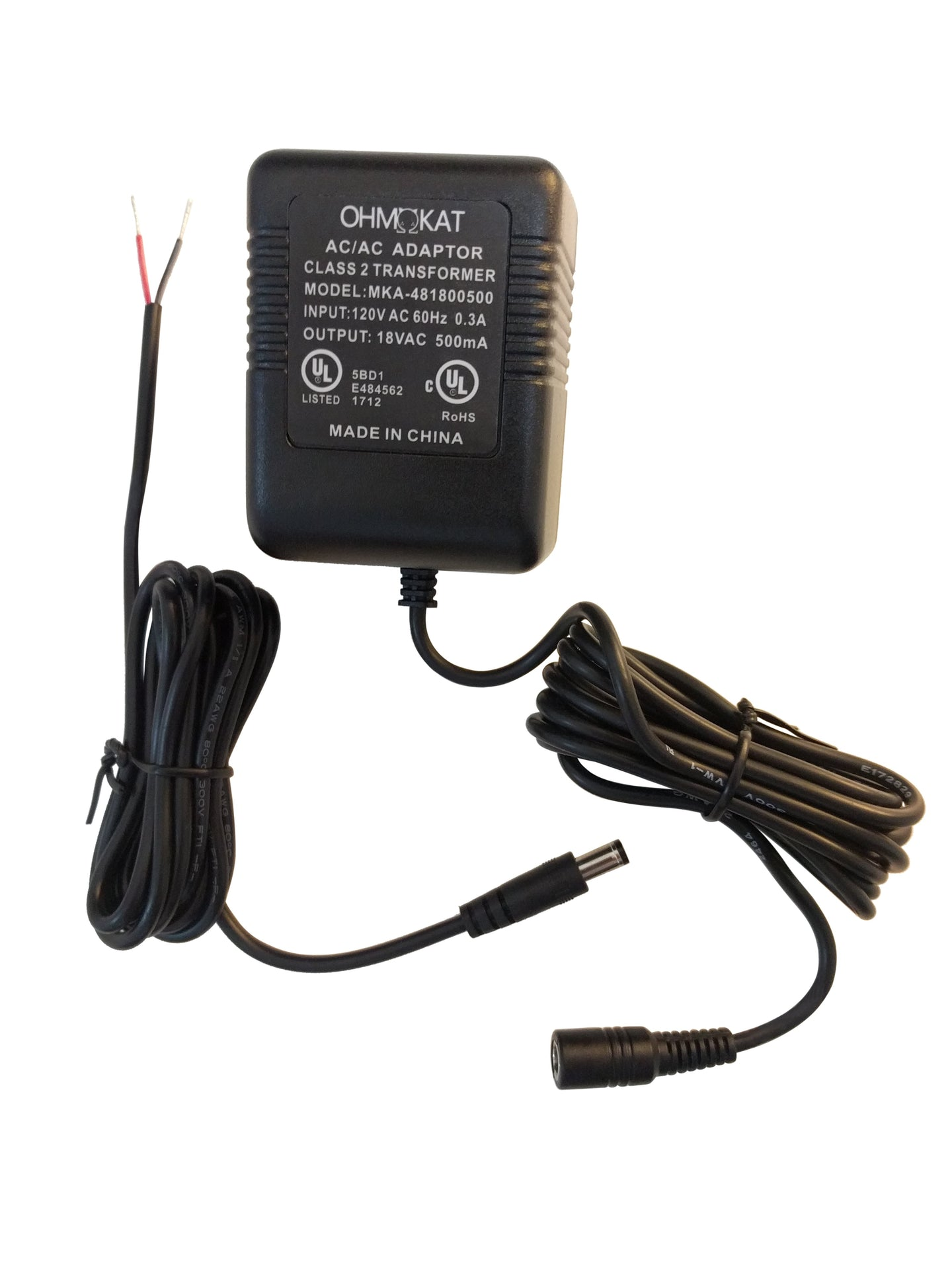 OhmKat Video Doorbell Power Supply - Compatible with Ring