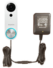 OhmKat Video Doorbell Power Supply - Compatible with SimpliSafe Pro Smart Wi-Fi Video Doorbell