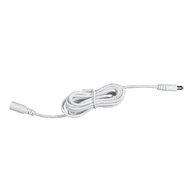 OhmKat Video Doorbell Power Supply Extension Cord (White)