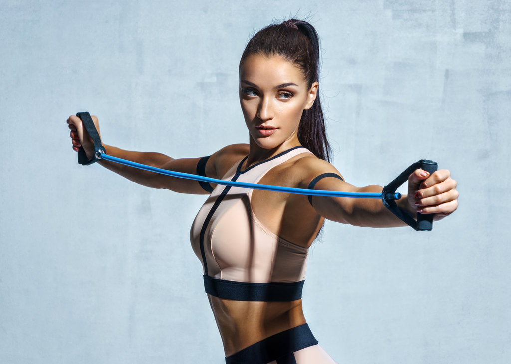 Build Muscle and Improve Fitness with a Full-Body Resistance Band Workout
