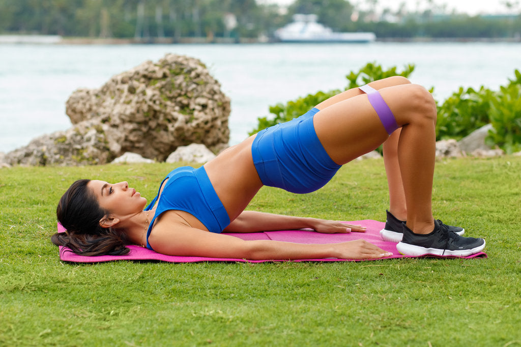 The Banded Glute Bridge: Shape Your Booty