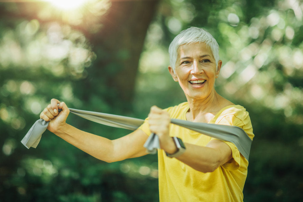 The Best Resistance Band Exercises For Seniors