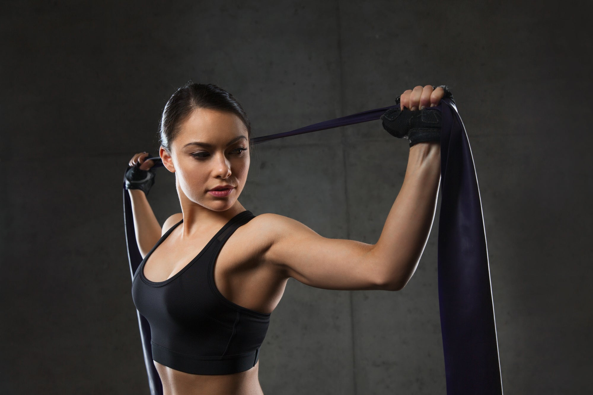 4 of the best resistance band chest exercises