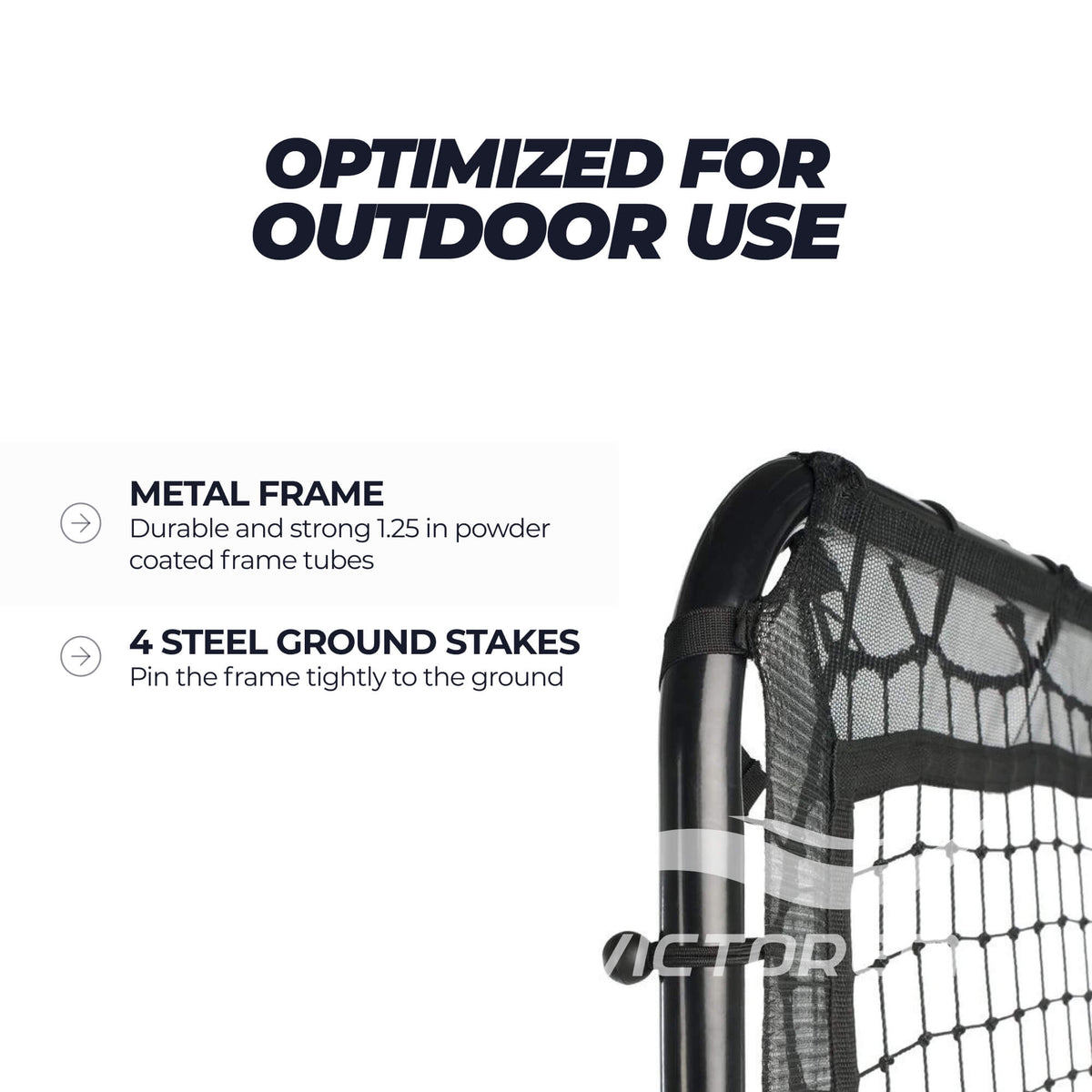 lacrosse rebounder for outdoor use