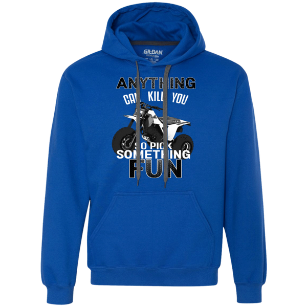 Anything Can Kill You - Gildan Heavyweight Pullover Fleece Sweatshirt