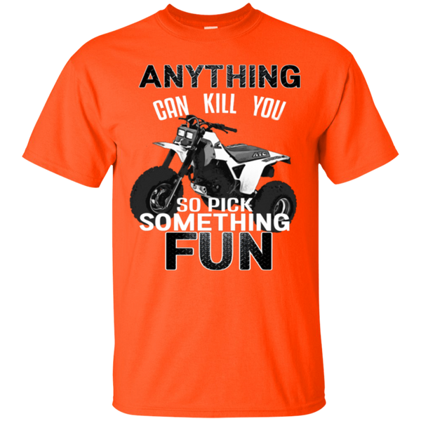 Anything Can Kill You - Gildan Ultra Cotton T-Shirt - Chupey's Awesome Apparel