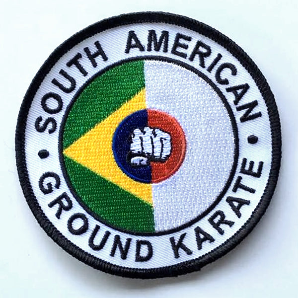 South American Ground Karate Patch