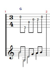 The Double Stop Blues - TAB/Notation - Printable PDF