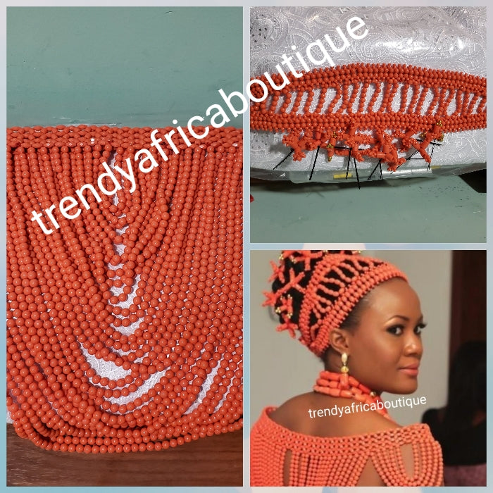 Nigerian/African Wedding Accessories for men and women. Beads, shawl, hand fan and much more.