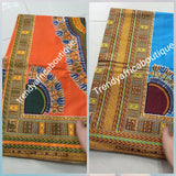 Colorful African Dashiki cotton wax print in   more colors. Sold per 6yrds. And price is for 6yrds
